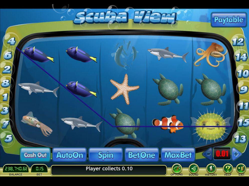 Scuba View Bonus Game