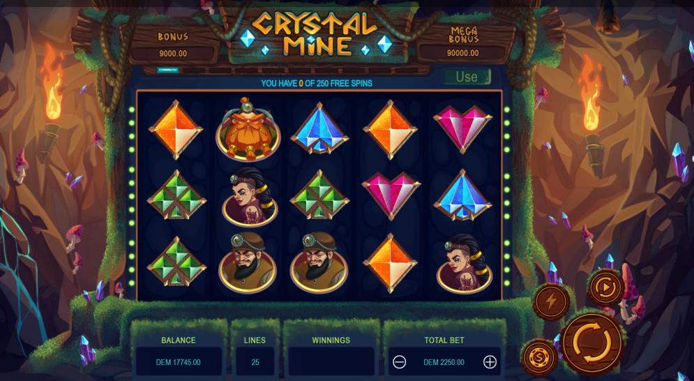 Crystal Mine