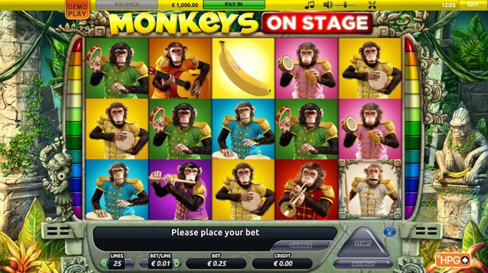 Monkeys On Stage