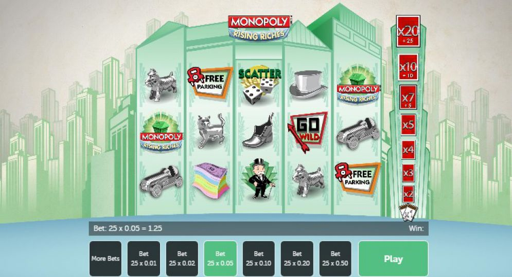 Monopoly Rising Riches