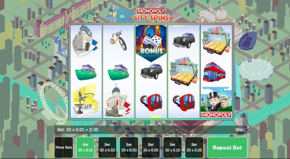 Monopoly City Spins