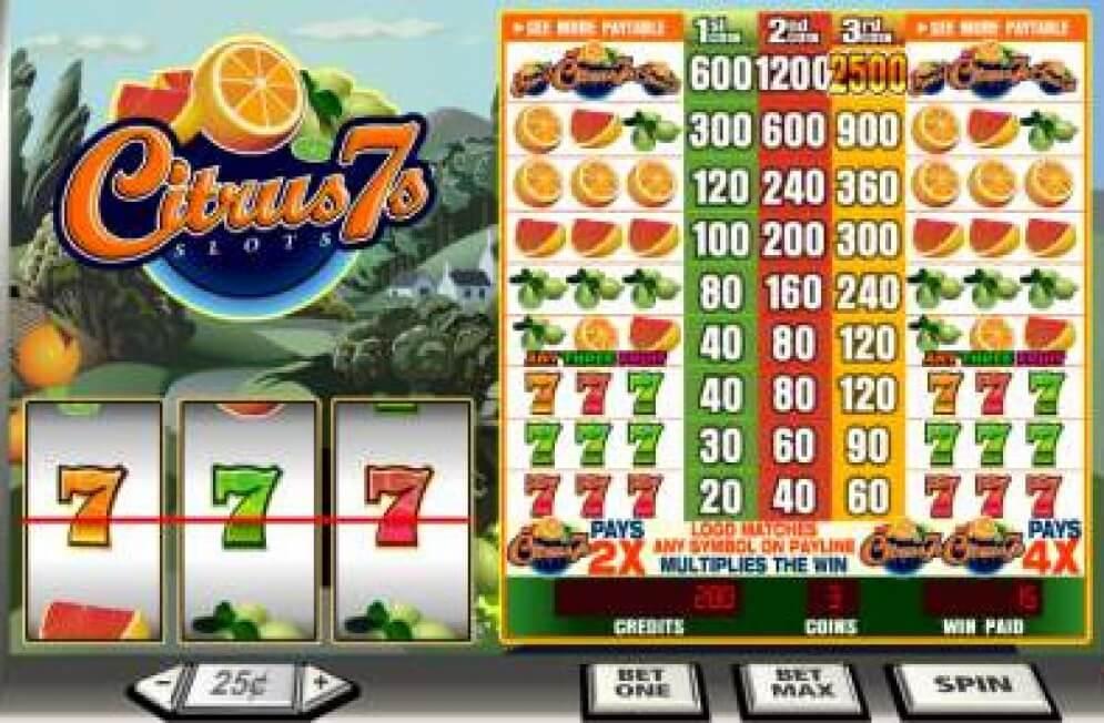 Citrus 7's