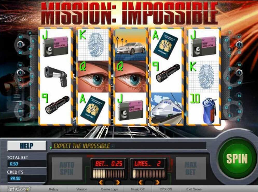 Mission: Impossible Slots