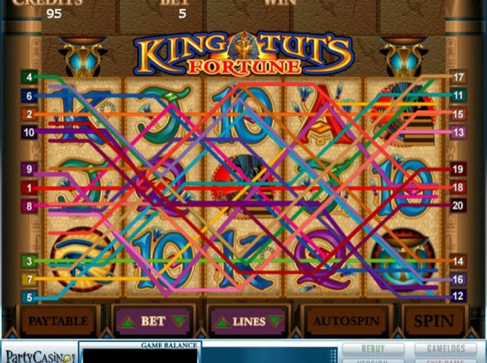 King Tut's Fortune