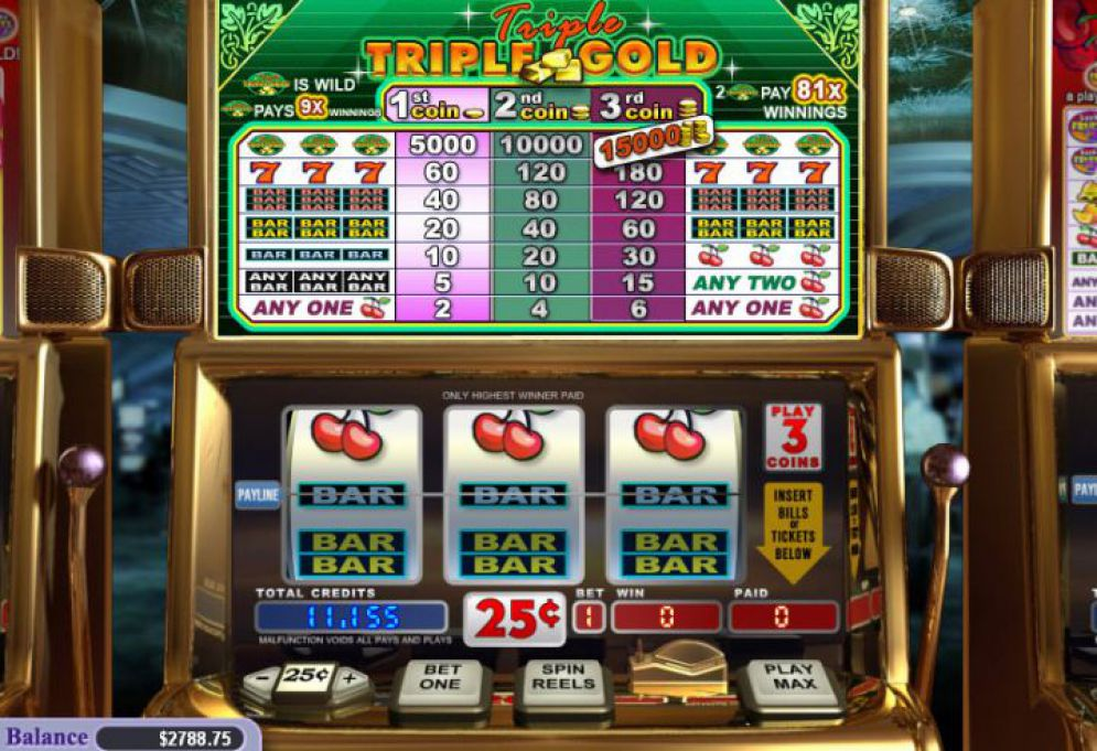 Triple Triple Gold