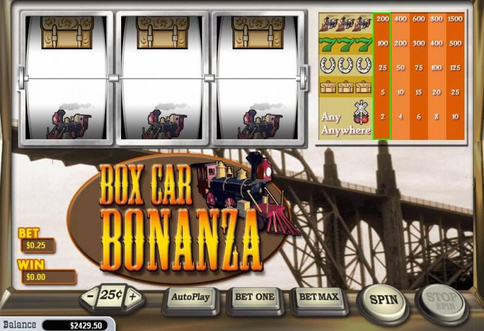 Box Car Bonanza