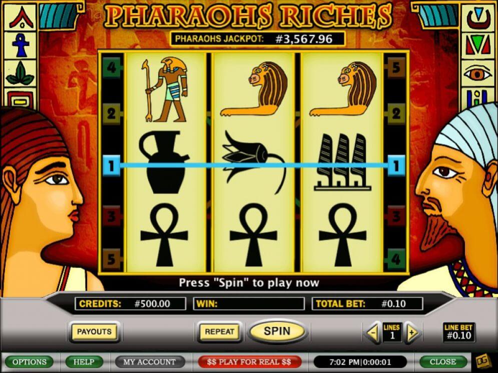 Pharaohs Riches