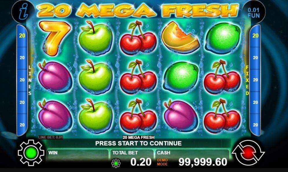 20 Mega Fresh
