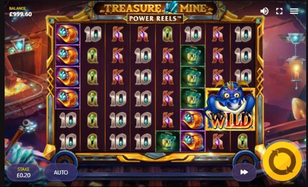 Treasure Mine Power Reels